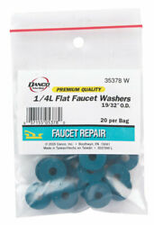 Danco  14 in. Dia. Synthetic Rubber  Washer  20 pk $6.28