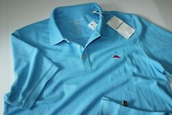 Tommy Bahama Polo Shirt Emfielder Embroidered Beach Hut T220856 Large L $59.95