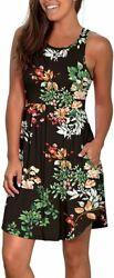 WIHOLL Womens Dresses Casual Summer Sundresses with Pockets Floral $61.98