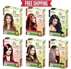 Henna Hair Color Instant Henna Hair Dye with Applicator Brush and Gloves $7.99