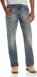 Wrangler Authentics Men#x27;s Relaxed Fit Boot Cut JeanTinted Mid Shade 40W x 30L $29.68