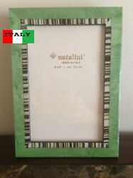Natalini Elegant 4X6 Handcrafted Wood Marquetry Photo Frame from Italy NEW! $21.99