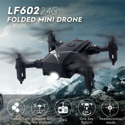 LF602 Foldable Drone 2.4G Altitude Hold 6Axis Gyro Headless Mode Quadcopter L2F9 $22.80