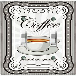 Metal Light Switch Cover Wall Plate For Kitchen Coffee Premium Quality COF137 $14.99
