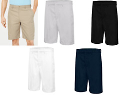 Greg Norman Mens Core 10 Inseam Classic-Fit Golf Shorts Assorted Colors $14.99
