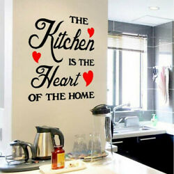 Art Removable Bedroom Wall Stickers Quote Word Decals Vinyl DIY Home Room Decor $2.98