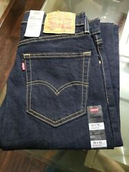 Men#x27;s Levi#x27;s 505 quot;NWTquot; 30x32 Blue Dark Wash Indigo Stretch $35.00
