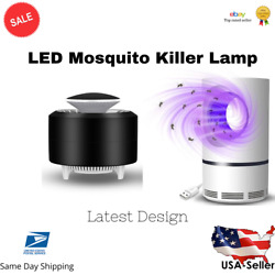 Electric Mosquito Insect Killer Zapper LED Light Fly Bug Trap Pest Control Lamp $9.99