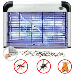 20W Indoor Electric UV Mosquito Fly Pest Killer Zapper Bug Light Catcher Trap $29.69