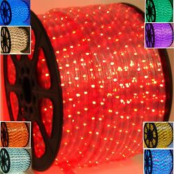 13 MM 2 wire LED Rope lights Decorative She Shed Man Cave Game room Deck