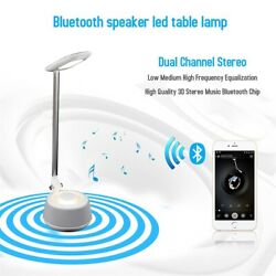 USB Rechargeable LED Desk Table Touch Lamp Adjustable Intensity Reading Light LA $8.90
