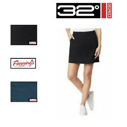 SALE 32° Degrees Ladies#x27; Skort Skirt W Shorts VARIETY SIZE COLOR F33 $14.95