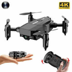 Mini RC drone 4K HD camera WiFi Fpv foldable Quadcopter $49.99