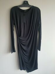 Anthropologie by COA Black size Small (fits XS) BRAND NEW WITH TAGS drape modern