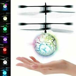 Flying Toys Infrared Induction Models Aircraft Helicopter Ball For Kids Adults $11.15