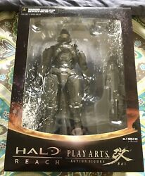 Square Enix Halo Reach Play Arts Kai No.1 NOBLE SIX Figure NewSealedMint US $79.99