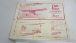 Rare Vintage Ramco First Step Balsa Plane Model RO37 60quot; Wings $149.94