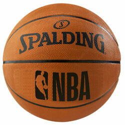 Spalding NBA Rubber Outdoor Basketball Fun Team Ball Orange $15.00