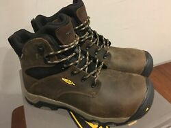 Keen Utility Rockford 1021342 waterproof Safety work shoe boot ASTM composite EH $75.00