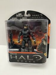 Halo Reach Series 1 Noble Six McFarlane Action Figure New and Sealed RARE! $75.00