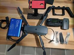 DJI Mavic Pro with 2 Batteries, Remote, Carrying Case, charger, phone mount $436.00