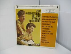 The Golden Hits of the Everly Brothers LP Warner Brothers 1962 $6.13
