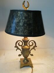 Vintage Brass Small Desk Table Lamp 12