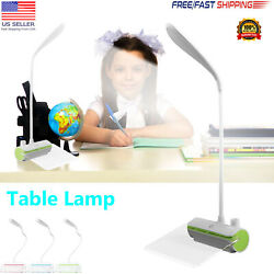 LED Desk Lamp Reading Light Table Dimmable Flexible Rechargeable + Message Board $4.99