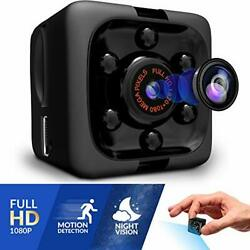 Mini Spy Camera 1080P Hidden Camera Portable Small Hd Nanny Cam With Night Vis $21.99