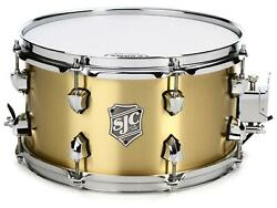 SJC Custom Drums Goliath Bell Brass Snare Drum - 7