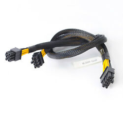 50cm for HP ML350 G8 Power Cable 10Pin to 6Pin GPU Cable 8Pin Drive Backplane $16.50