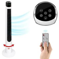 47quot; Oscillating Tower Fan 3 Speeds 3 Modes Floor Remote Timer Air Cooler Home $101.99
