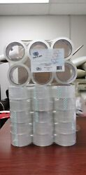 36 Rolls Clear Carton SealingPackaging Tape Box Shipping 2 mil 2