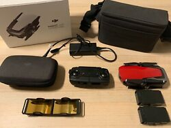 DJI MAVIC AIR FLY MORE COMBO* FLAME RED (Great Condition) $346.00