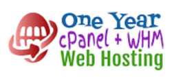 One Year cPanel WHM Web Hosting Unlimited web space Unlimited bandwidth $5.00