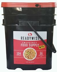 Readywise Survival Bucket Ready Wise Emergency Food Supply 124 Servings 4Bonus $112.25