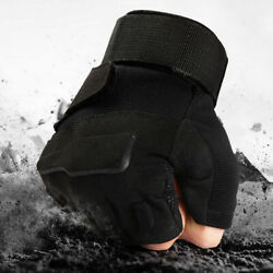 Protective Cycling Hiking Hunting Shooting Gloves Tactical Army Military Gloves $13.98