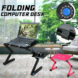 360 Degree Adjustable Foldable Laptop Desk Table Stand Holder Durable Aluminum $46.99