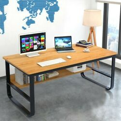 Computer Desk PC Laptop Table Study Workstation Home Office Furniture wShelf US $89.99