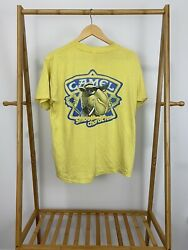 VTG 80s Camel Smooth Character Thin Yellow Pocket Front T-Shirt Size XL USA