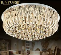 Luxury Remote Crystal LED Chandeliers Pendant Lamps Lighting Ceiling Fixtures $359.99