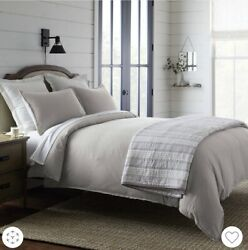 Threshold Full Queen Duvet Covers from Target Silver Linen $64.00