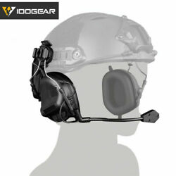 IDOGEAR Headset Ear Muffs Shooting Ear Protection For Helmet Military $62.00