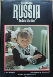 Russia from a journalist's view in 1977 detailed map photographs hardcover $9.00