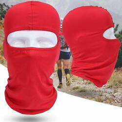 Outdoor Cycling Windproof Breathable Motorcycle Balaclava Full Face Mask Hood $13.99