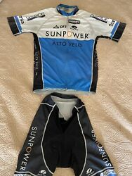 Voler Sun Power Cycling Jersey and Shorts size Large In great condition $49.95