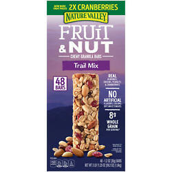 Nature Valley Chewy Trail Mix Fruit amp; Nut Granola Bars 48 ct. $19.47