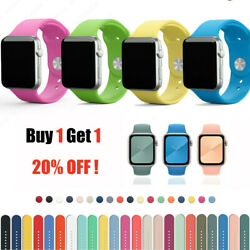 New Silicone Loop Sport Band For Apple Watch Series SE 6 5 4 3 2 40mm 44mm $4.99