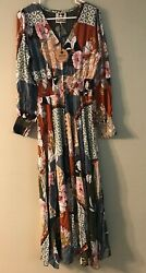 Jaase dress boho maxi large New with tags Handcrafted in the shed Australia $29.00