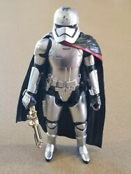 Captain Phasma 12quot; Star Wars The Force Awakens Hasbro 1 6 Scale Action Figure $16.75